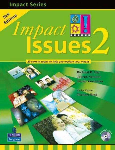 宮崎-ハロー-英会話 大学生 一般 ビギナー 最適 テキスト Impact Issues 2