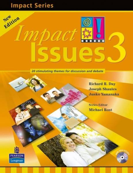 宮崎-ハロー-英会話 大学生 一般 ビギナー 最適 テキスト Impact Issues 3