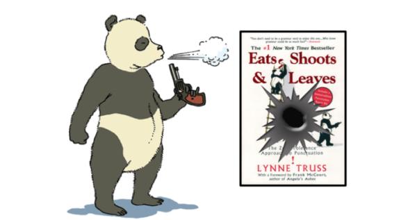 宮崎ハロー英会話のミニレッスン 13: Eats shoots and leaves.